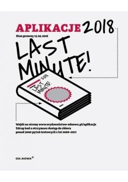 Aplikacje 2018 Last Minute!