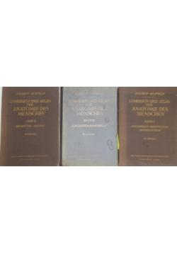 Lehrbuch und Atlas der Anatomie des Menschen , Tom I-III