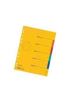 Przekładki A4 kartonowe 6-cz XXL Colorspan