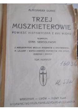 Trzej muszkieterowie 1913