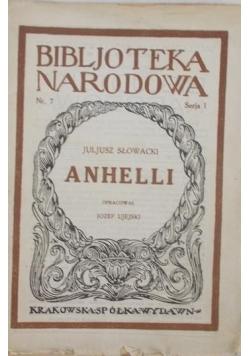 Anhelli, 1927 r.