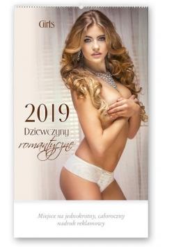 Kalendarz 2019 Reklamowy Dziewczny romantyczne RE5