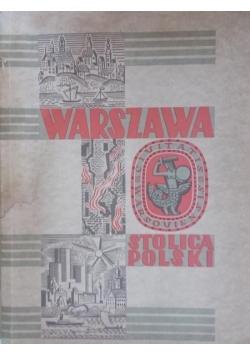 Warszawa stolica Polski, 1949 r.