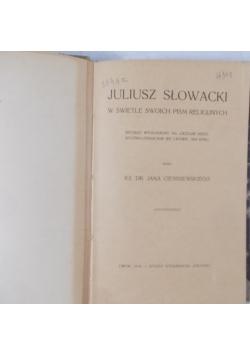 Juliusz Słowacki w świetle swoich pism religijnych, 1910r.