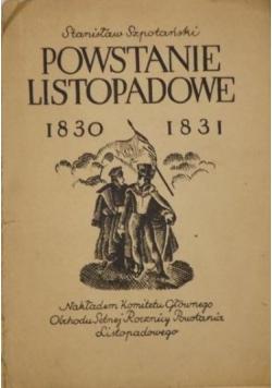 Powstanie listopadowe 1830-1831, 1930 r.