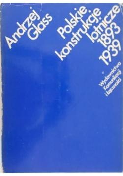 Polskie konstrukcje lotnicze 1893-1939