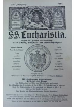 SS. Eucharistia, XIV Jahrgang, 1901 r.