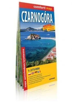 Comfort!map Czarnogóra 1: 275 000 mapa