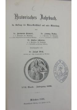 Historisches Jahrbuch, 1896 r.