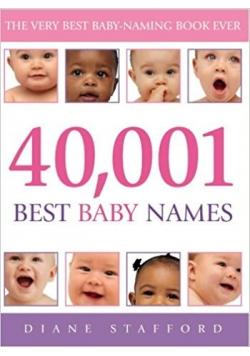 40,001 best baby names