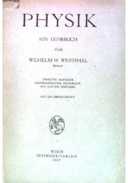 Physik ein lehrbuch, 1947 r.
