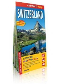 Comfort!map Switzerland (Szwajcaria) mapa