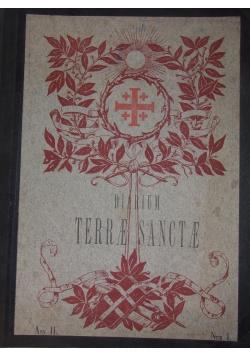 Diarium Terrae Sanctae, 1909 r.