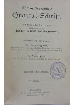 Theologisch praktische Quartalschrift , 1908 r.