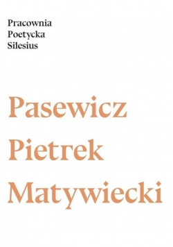 Pracownia Poetycka Silesius 2016