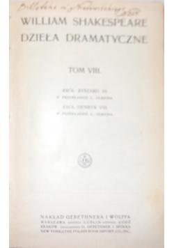 William Shekspeare dzieła damatyczne