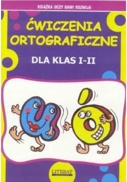 Ćwiczenia ortograficzne U, Ó dla kl.I-II