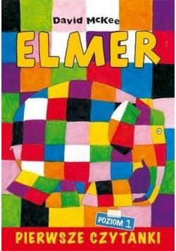 Pierwsze czytanki. Elmer słoń w kratkę. Poziom 1