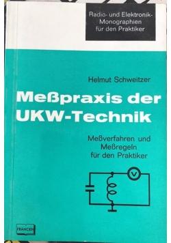 Messpraxis der UKW-technik - Meßverfahren und Messregeln für den Praktiker
