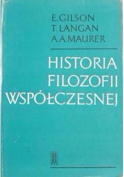 Historia filozofii współczesnej