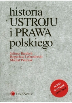 Historia ustroju i prawa polskiego 2009/2010