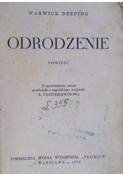Odrodzenie 1935 r.