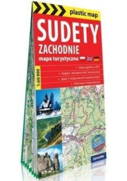 Plastic map Sudety Zachodnie mapa tur. 1:60 000