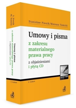 Umowy i pisma z zakresu materialnego prawa...+CD
