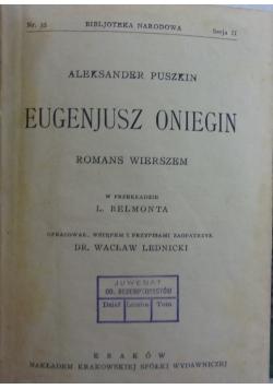 Romans wierszem 1925r