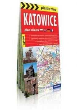 Plastic map Katowice plan miasta 1:20 000