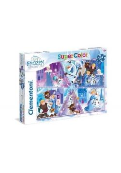 Puzzle Supercolor Kraina lodu Olaf's Frozen Adventure 104