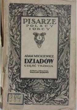 Dziadów część trzecia, 1920 r.