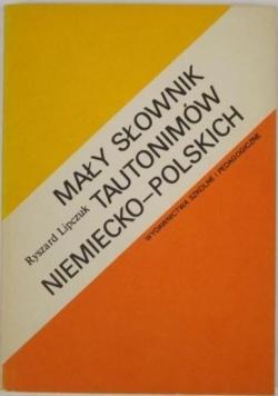 Mały słownik tautonimów niemiecko-polskich