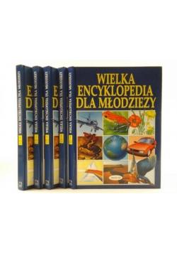 Wielka encyklopedia dla młodzieży. Tom I-V