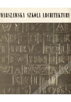 Warszawa Szkoła Architektury
