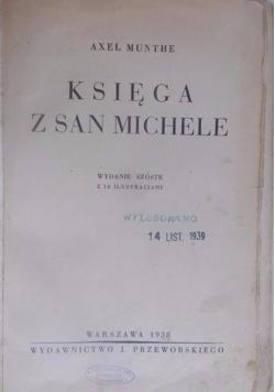 Księga z San Michele, 1938 r.