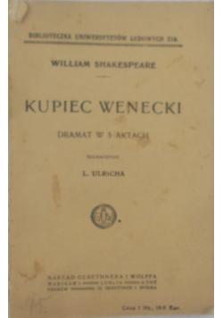 Kupiec Wenecki,1919r.