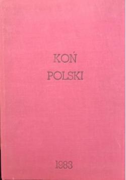 Koń Polski, 4 numery, 1983 r.
