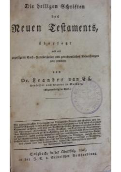 Die heiligen Schriften des nueun testaments, 1847r.