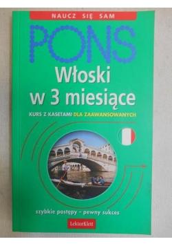 PONS. Włoski w 3 miesiące dla zaawansowanych