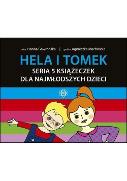 Hela i Tomek Seria 5 książeczek dla najmłodszych dzieci