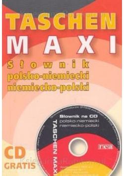 Słownik Polsko-Niemiecki Niemiecko - Polski + płyta CD