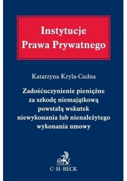 Instytucje Prawa Prywatnego. Zadośćuczynienie...