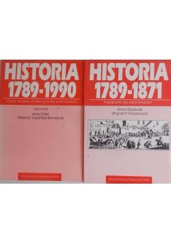 Historia 1789-1871/Historia 1789-1990