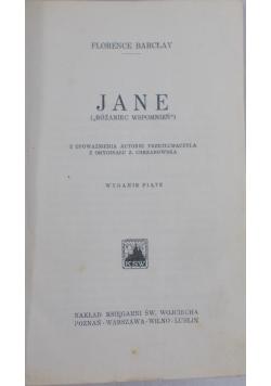 Jane. Różaniec wspomnień, 1950 r.