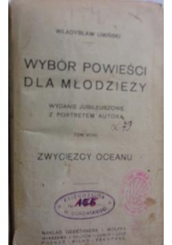 Wybór powieści dla młodzieży ,1922r.