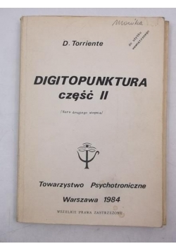 Digitopunktura, cz. II
