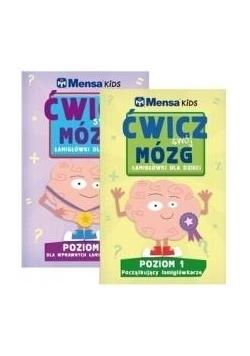 Pakiet Mensa Kids. Ćwicz swój mózg. Poziom 1-2