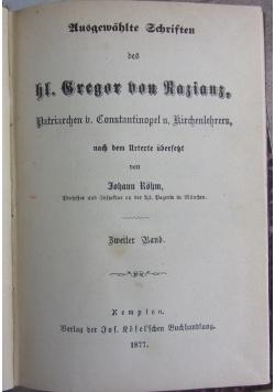 Gregor von Rasians, 1877 r.