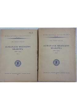 Almanach muzyczny Kraków  1780-1914, 1939r.